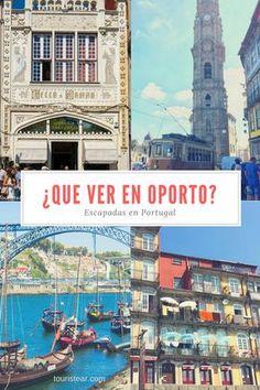 ¿Que ver en Oporto en un fin de semana? #Oporto #portugal Best Beaches In Portugal, Portugal Vacation, Hotels Portugal, Places In Portugal, Visit Portugal, Portugal Travel, Amazing Destinations, Travel Destinations, Travel Tips