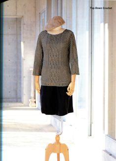 Gallery.ru / Фото #6 - Lets knit series NV70135 2011 Top-Down Crochet - WhiteAngel
