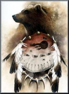 The Bear Spirit Guide. Native American Pictures, Native American Artwork, American Indian Art, Native American Spirituality, Native American Symbols, Native American Indians, Ours Grizzly, Bear Totem, Animal Spirit Guides