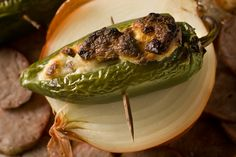 Sweet onions and Italian sausage play well with jalapeño heat.This recipe was featured as part of our Jalapeño Popper Recipes photo gallery. Sausage Recipes, Spicy Recipes, Appetizer Recipes, Appetizers, Appetizer Dinner, Appetizer Ideas, Healthy Recipes, Jalapeno Popper Recipes, Jalapeno Poppers