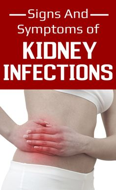 Signs And Symptoms of Kidney Infections   Remedies Corner