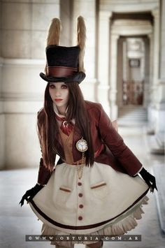Alice in Wonderland – Rabbit, I've considered doing this cosplay before