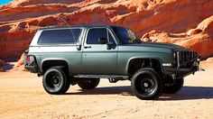 1986 Chevrolet K5 Blazer 502 CI, 5-Speed presented as lot T153 at Anaheim, CA 2014 - image1