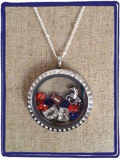 Denver Broncos | Origami Owl # Football season make your favorite team locket today! contact me @ kimberlycushard.origamiowl.com
