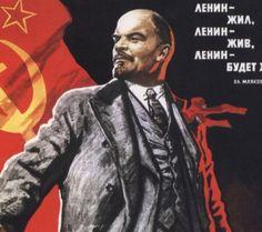 Lenin greep tijdens de eerste wereldoorlog de macht en zette de vorige tsaar af door middel van de Februarirevolutie. Na een poging van een staatsgreep van een generaal kwam Lenin weer terug d.m.v. een staatsgreep beter bekend als de Oktoberrevolutie om over het communistische Rusland te regeren. Lenin was een groot voorstander van het communisme en wilde dit graag invoeren in zijn eigen land.
