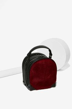 Fur of the Moment Handle Bag - Accessories