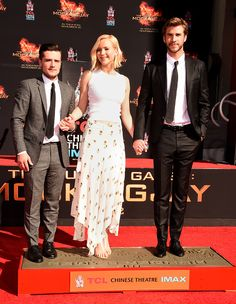"""joshhutchersonnews: """" """"The Hunger Games: Mockingjay: Part 2 Ceremony at TCL Chinese Theatre on October 31, 2015 """" """""""
