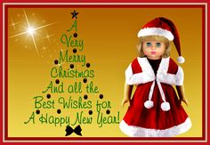 """MERRY CHRISTMAS  --  SEE THE VIDEO OF THIS DOLL:  """"SHOW AND RARE BEAUTY"""""""