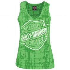 Green Harley-Davidson Ladies Shirt from new 2012 collection