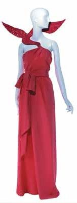 1988  - YSL tribute to Braque red dress