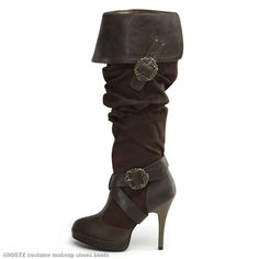 Caribbean Pirate Women's Boots perfect for halloween Cute Shoes, Me Too Shoes, Pirate Wedding, Pirate Party, Steampunk Pirate, Pirate Woman, Pirate Life, Character Outfits, Shoe Boots