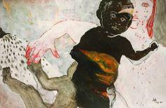 "Saatchi Art Artist Golriz Rezvani; Painting, ""Forgive me ..."" #art"