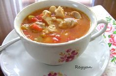 Kazdagi Soup Recipe, How To, Soup Recipes Fish Recipes, Appetizer Recipes, New Recipes, Soup Recipes, Salad Recipes, Turkish Recipes, Ethnic Recipes, Turkish Kitchen, Good Food