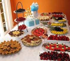 Easy Finger Foods for Bridal Shower