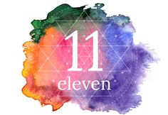 Eleven - meaning of numbers image Numerology Number 11, Numerology Chart, Angel Number Meanings, Angel Numbers, Expression Number, Dream Symbols, Numerology Calculation, Spiritus, Spiritual Awakening