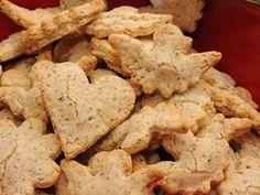 Mandlové cukroví - | Prostřeno.cz Cookies, Desserts, Food, Crack Crackers, Tailgate Desserts, Deserts, Biscuits, Essen, Postres