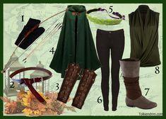 Materiel pour un costume elfe guerrièrre!