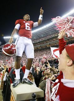 Blake Sims❤️  My favorite part of the game! Loved seeing Blake in front of the student section.