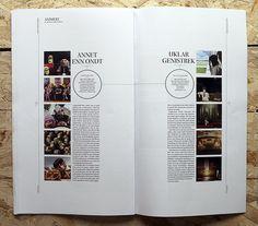 magazine and editorial graphic design inspiration - magspreads: snitt magazine - kristian allen larsen