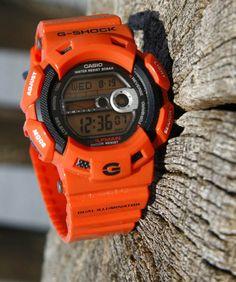 Orange Casio G-Shock Gulfman Limited Edition- G9100R-4