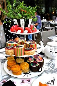 This Particular.: Mad Hatter's Afternoon Tea   Sanderson Hotel