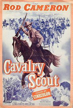 1948 Rod Cameron movies | Re: Cavalry Scout de Lesley Selander avec Rod Cameron, 1951