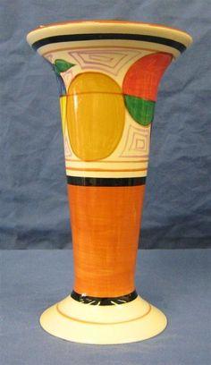 Mma Clarice Cliff Tulip vase