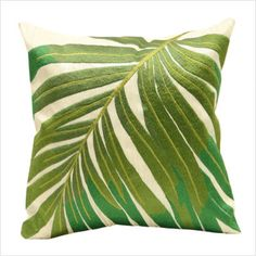 Palm Frond Pillow