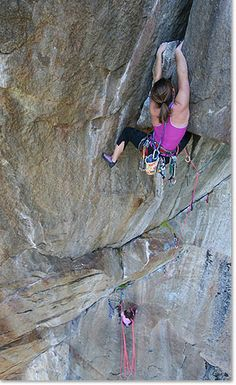 www.boulderingonline.pl Rock climbing and bouldering pictures and news Lynn Hill -Only pers