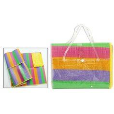 pomôcky do domácnosti Beach Mat, Outdoor Blanket, Rainbow, Rain Bow, Rainbows