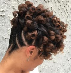 Curly+Updo+With+Flat+Twists+Shorter+Hair