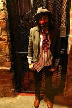 hobo clown.