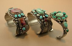 These bracelets are the right kind of chunky! I love the colors, shapes, and look.