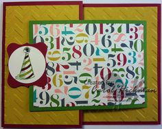 Stampin' Up! Quick & Cute Birthday Basics GIFT CARD TUTORIAL!! Need a quick and easy gift card holder that is also a Birthday Card?? This card is so cute and easy to make!! It would also make great Teacher, Christmas, Babysitter etc....gifts!! Have fun with it!! :) I used Birthday Basics Designer Paper and the Sketched Birthday Stamp Set! Click on the picture for the easy peasy tutorial!!