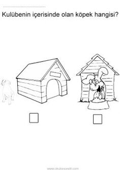 İçinde dışında kavramı çalışma sayfası. Free inside and outside worksheets download printable. Hoja de trabajo dentro y fuera. Рабочий лист внутри и снаружи.