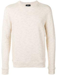 A.P.C. Blurry Risks Print Sweatshirt. #a.p.c. #cloth #sweatshirt