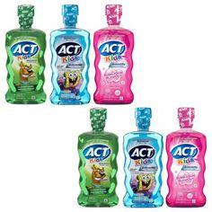 ACT Kids Fluoride Rinse Just $0.94 At Walmart!