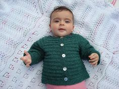 Ravelry: No Tears Baby Cardigan pattern by Astrid Colding Sivertsen