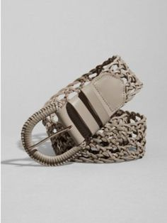 GUESS by Marciano Willow Woven Belt $68.00