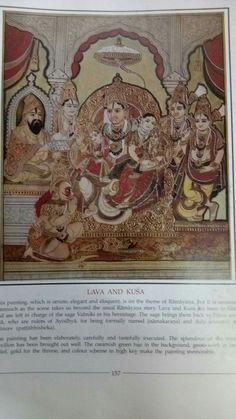 Mysore Painting, Tanjore Painting, Sita Ram, Traditional Paintings, Indian Paintings, 3 Things, Indian Art, Krishna, Vintage World Maps