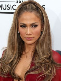 Image result for jlo hair 2017 half upstyle