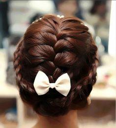 nice Wedding hair Shtyle 72.