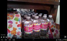 Candyland water bottle
