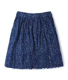 Boden Crinkle Holiday Skirt: Go ahead and cram this playful skirt into your suitcase. Because of its ultra-lightweight printed fabric and already-rumpled texture, you won't have to bother with an iron once you reach your destination.