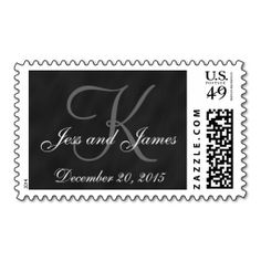 Chalkboard Save the Date Postage Stamp. Wanna make each letter a special delivery? Try to customize this great stamp template and put a personal touch on the envelope. Just click the image to get started!