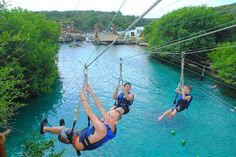 zipline - Picture of Xel-Ha Park, Riviera Maya - TripAdvisor