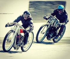 Just a bunch of bike-building celebs racing V-Twins with no brakes around a banked dirt oval. Sturgis Motorcycle Rally, Motorcycle Rallies, Motorcycle News, Sons, Biker, Racing, Vehicles, Track, Vintage