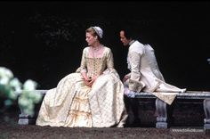 Dangerous Liaisons (1988) Michelle Pfeiffer and John Malkovich Period Costumes, Movie Costumes, Dangerous Liaisons, 18th Century Costume, John Malkovich, 18th Century Fashion, Long Time Friends, Michelle Pfeiffer, Future Wife