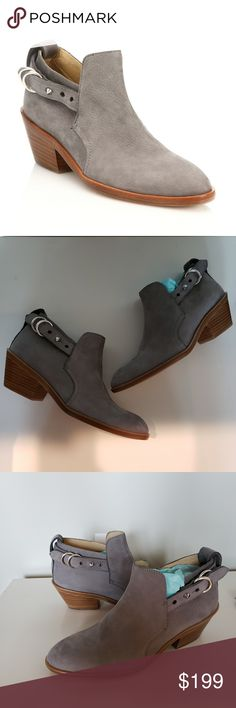 dcf8d2f213ece3 Rag   Bone Gray Sullivan Nubuck Leather Ankle Boot Rag   Bone gray Sullivan  boots.