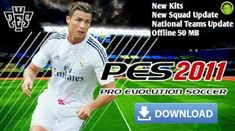 PES 2011 Mod 2018 Android - Pro Evolution Soccer Android Mobile Phone Game Offline 50 MB Lite Full Squad and Kit Update. Konami company is a well-known figure in the field of mobile games and not onl Cell Phone Game, Phone Games, Iphone Mobile, Mobile Phones, Android Mobile Games, Pro Evolution Soccer, Mobile Video, Android Smartphone, Cool Pictures